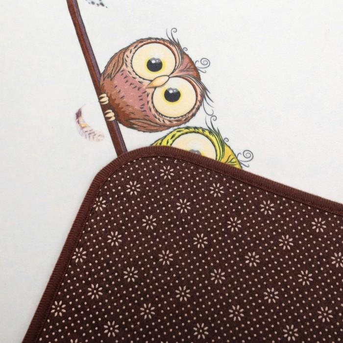 Картина панно рисунок сказка квиллинг совушки бумажные полосы