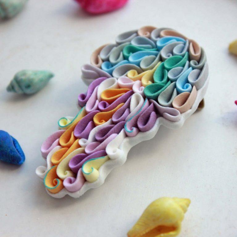 Блины из полимерной глины