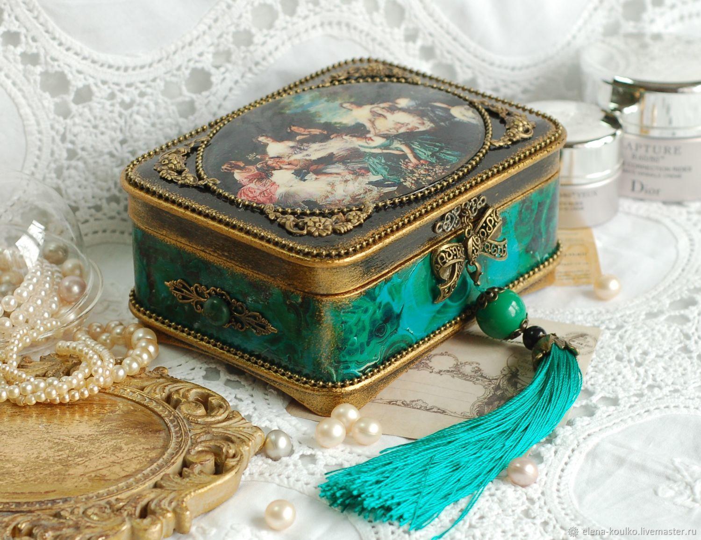 Декупаж шкатулки: пошаговые мастер-классы декорирования в разных стилях для начинающих