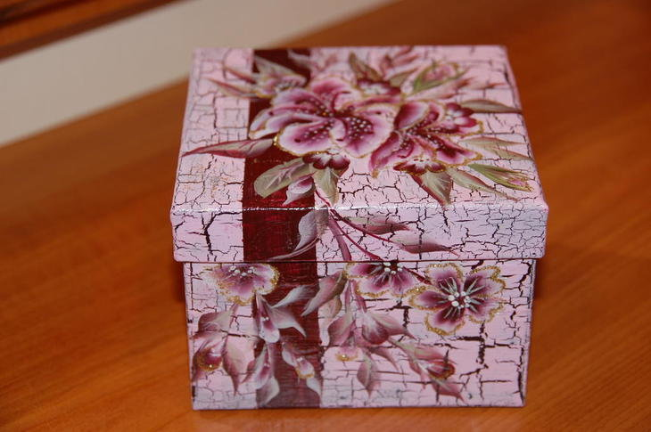 Декупаж коробок для начинающих своими руками - советы, фото идеи