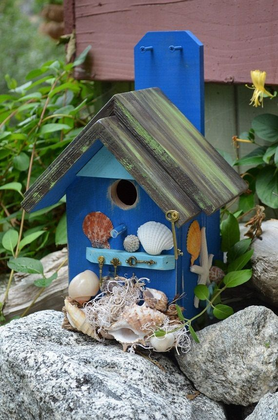 Красивые скворечники для птиц: 95 фото красивых идей и вариантов украшения скворечников
