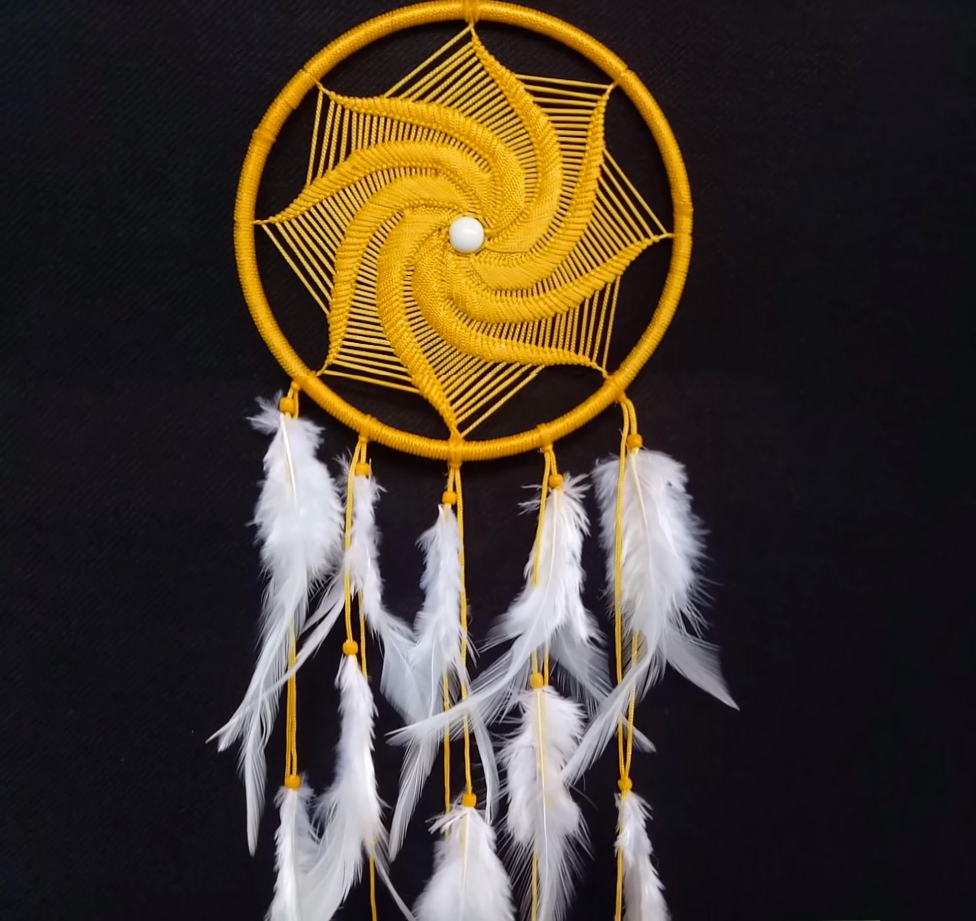 Значение ловца снов — принцип работы индейского оберега (3 фото)