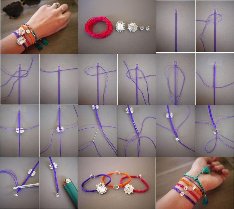 Как сделать браслет – секреты создания простых и модных украшений для детей и взрослых (75 фото)