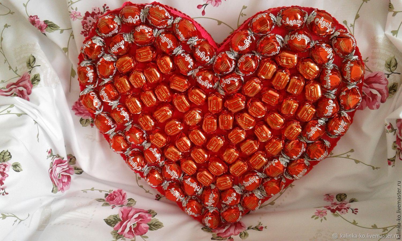 Конфетное сердце