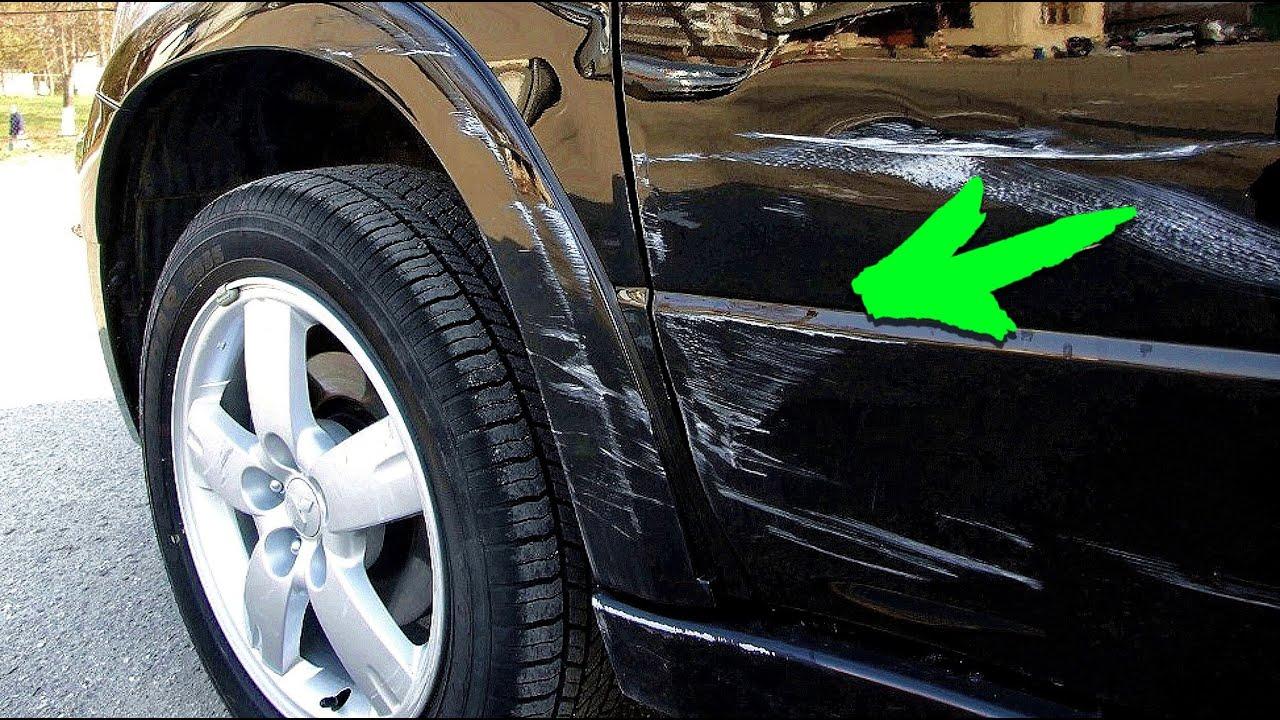 Полировка глубоких царапин на кузове автомобиля своими руками