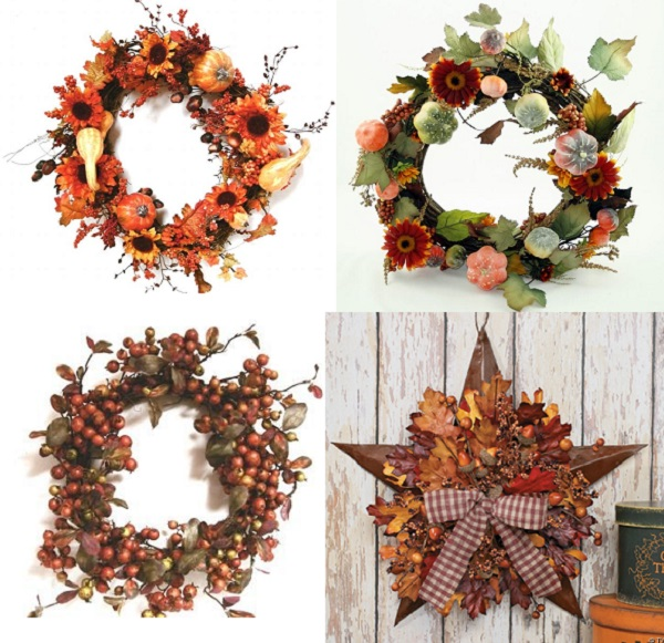 Осенний венок из природного материала своими руками: мастер класс как сделать из листьев, рябины в детский сад | все о рукоделии