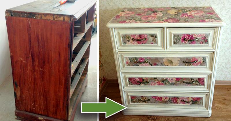 Что можно сделать из старого шкафа