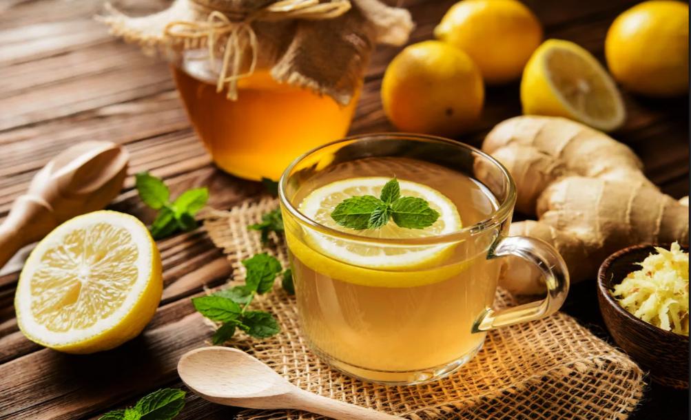 """Тонизирующий напиток из лимона, мяты и меда — журнал """"рутвет"""""""