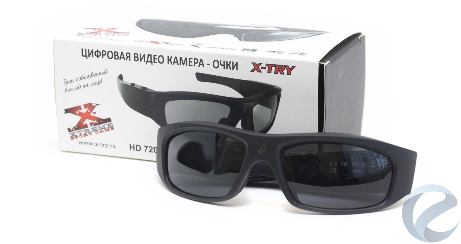 Обзор очков со встроенной видеокамерой x-try xtg100 hd original — i2hard