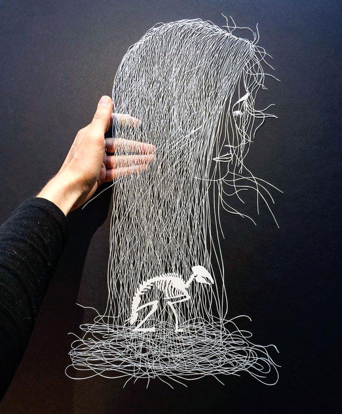 Оригинальная техника создания невероятно красивых картин — ниткография