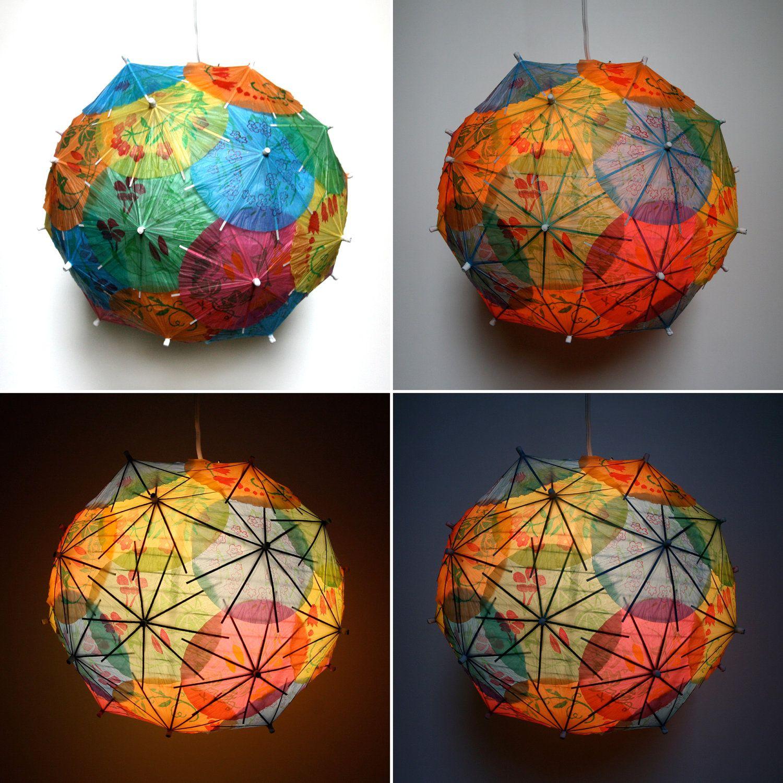 Делаем бумажный шар в разных техниках