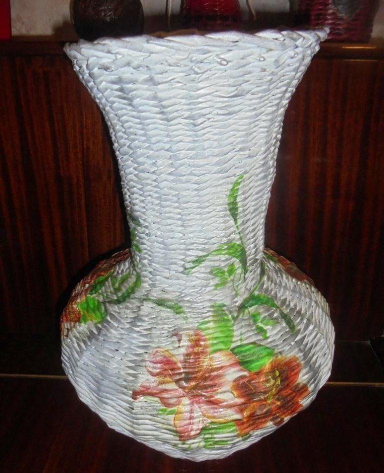 Плетение из лозы пошагово для начинающих: уроки плетения из газетных трубочек своими руками