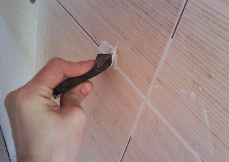 Легкий способ удаления старой затирки: как обойтись без сколов и царапин на плитке — строительство и отделка — полезные советы от специалистов
