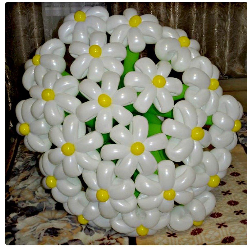 Как сделать цветок из шарика - оригинальные поделки цветов с понятными инструкциями. способы изготовления поделки из шарика с фото и видео