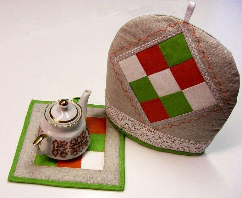 Грелка на чайник своими руками — мастер-классы и советы по шитью бабы