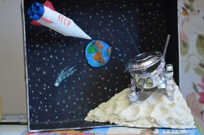 Поделки на тему космос своими руками