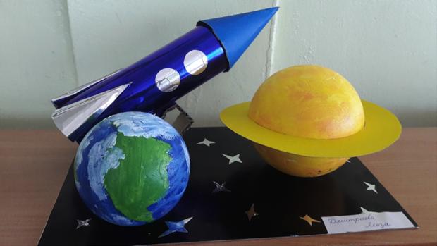 Создание поделки ракеты своими руками - простые пошаговые мастер-классы