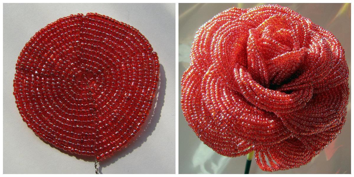 Как сделать розу из бисера: мастер класс, особенности плетения красивых цветов