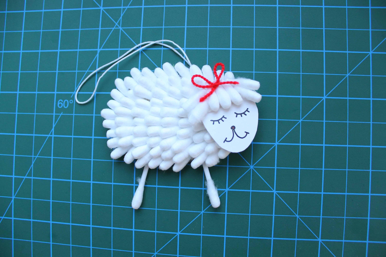 Мастер-класс поделка изделие новый год шитьё овечка из фетра за полчаса ленты фетр