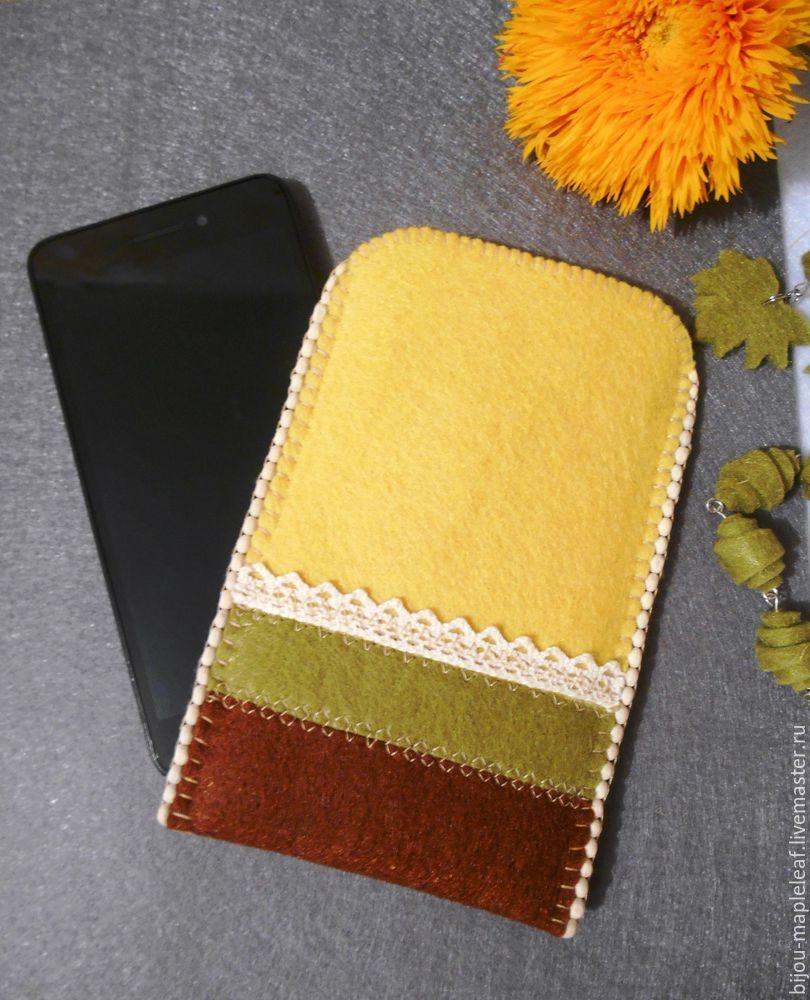 Чехол для телефона из фетра или кожи: способы сшить своими руками, создание выкройки