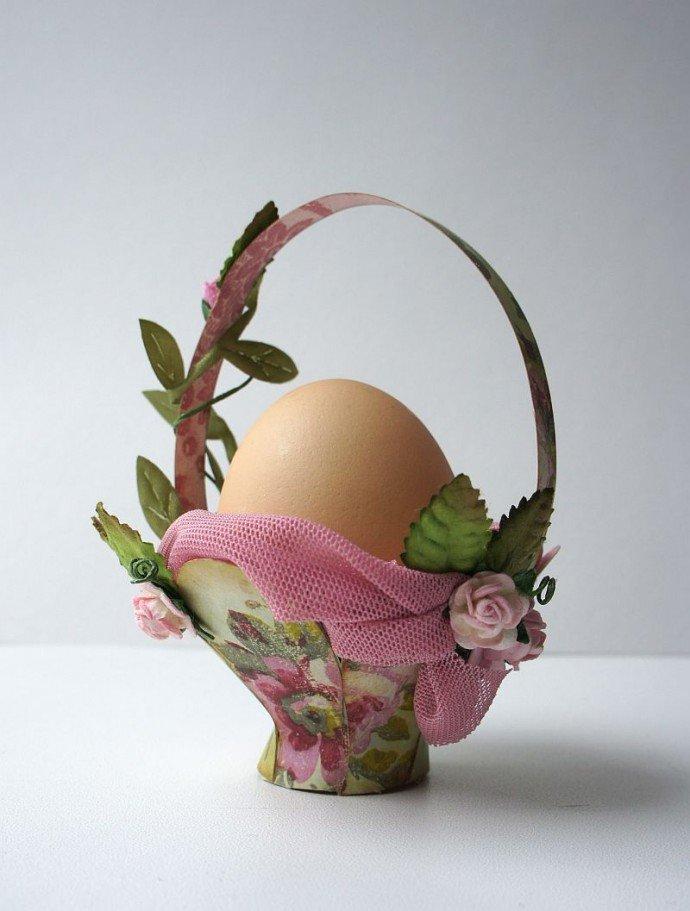 Корзинка для яиц на пасху своими руками