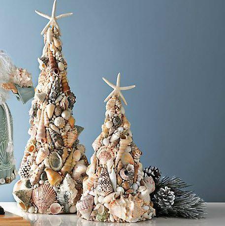 Новогодняя игрушка на елку из морской ракушки. елка из ракушек своими руками – фото как сделать елочку из ракушек своими руками