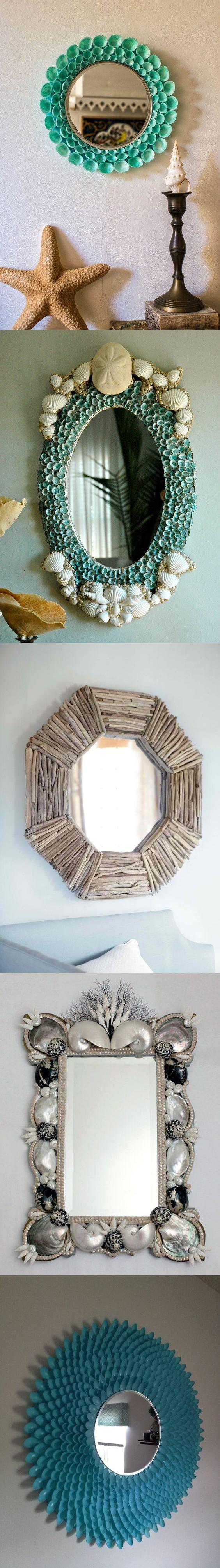 Как обновить старое зеркало. вдыхаем жизнь в старое зеркало