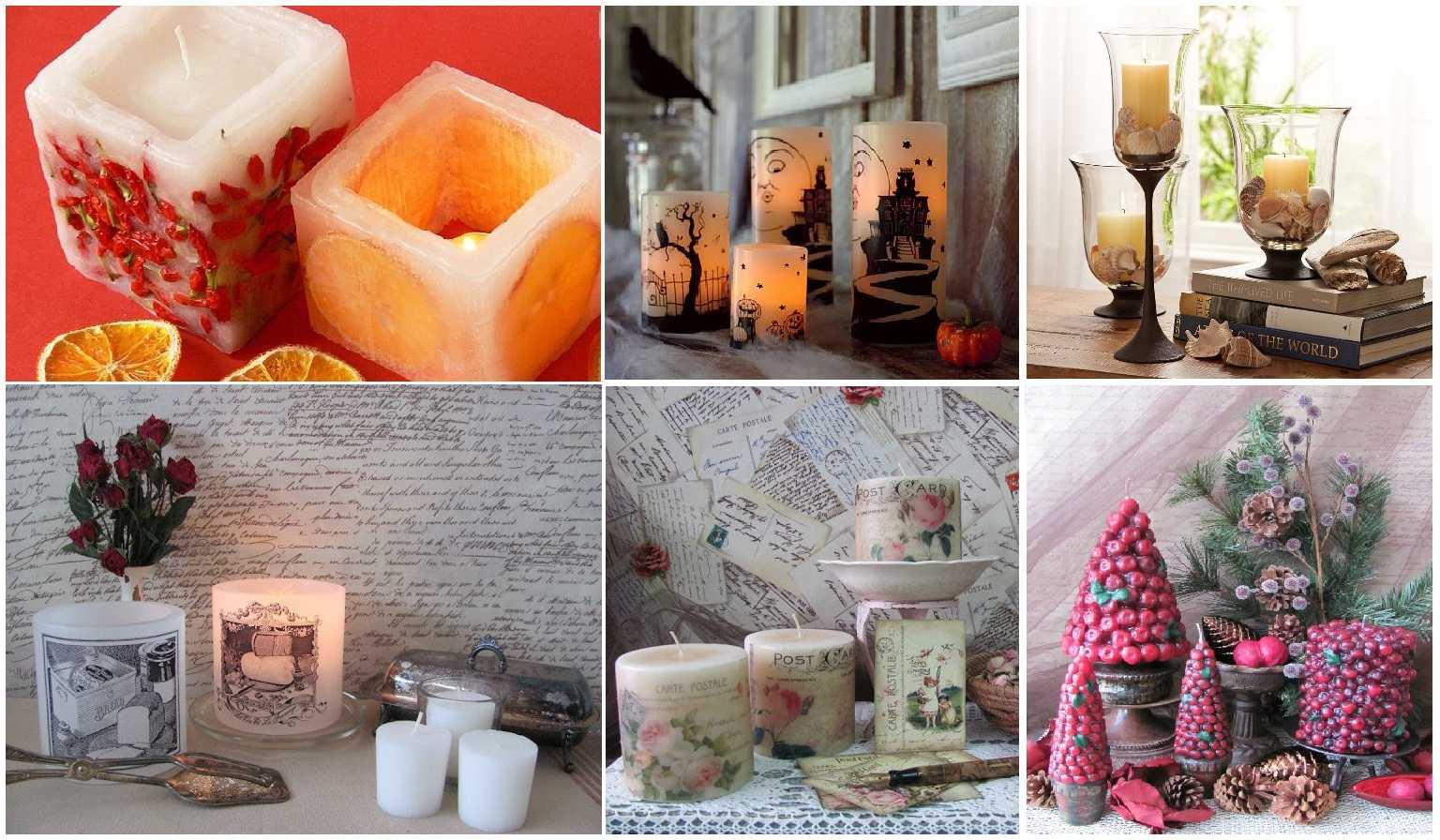 Новогодние свечи – особенности резных, гелевых, электрических и других видов