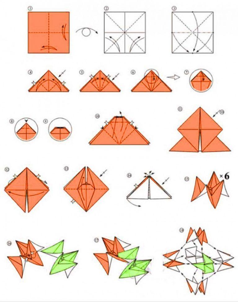 Как сложить розу из бумаги (с иллюстрациями) - wikihow