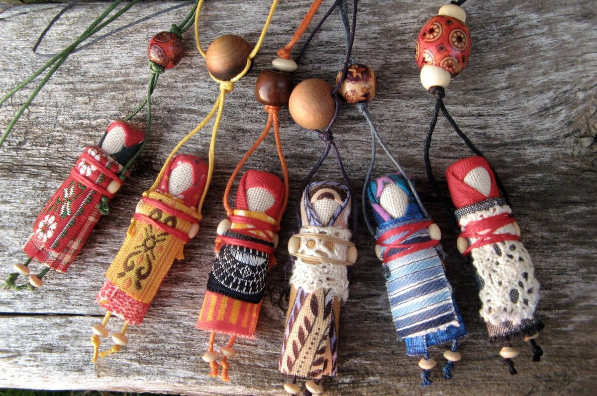 Куклы-обереги из ткани и ниток: мастер-класс, как сделать своими руками