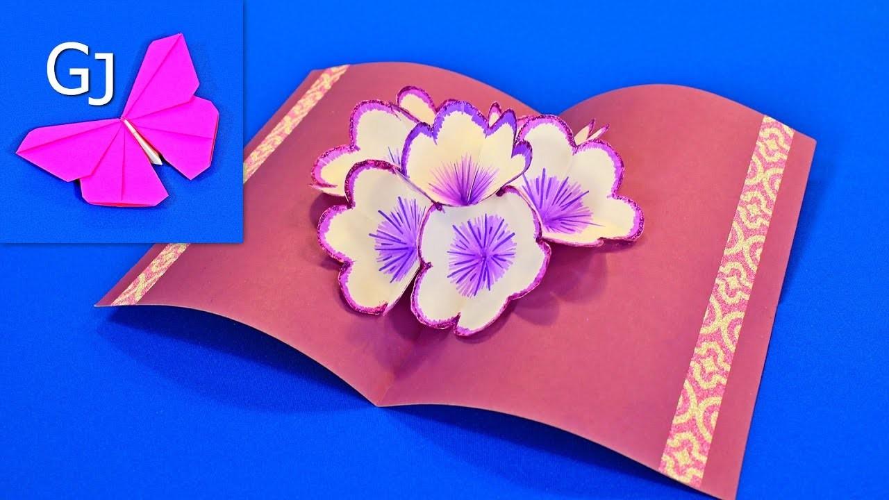 Мастер-класс: делаем 3d открытку с сюрпризом