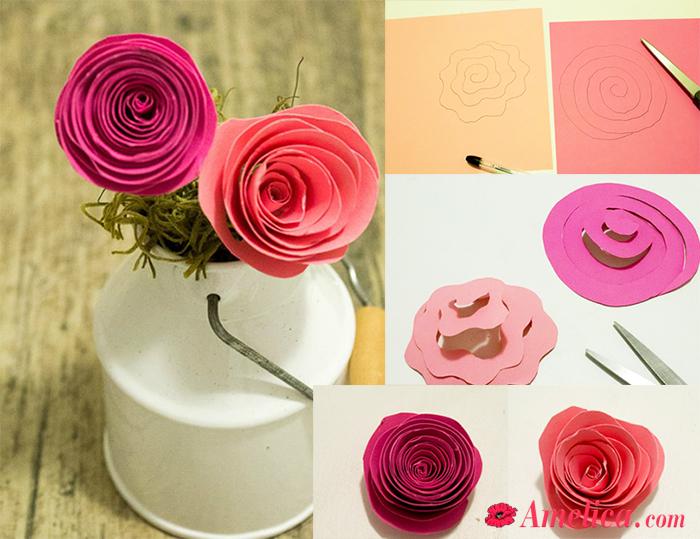 Розы из гофрированной бумаги своими руками: пошаговые инструкции для начинающих