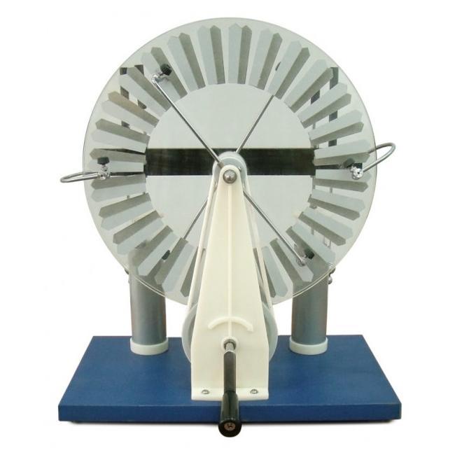 Электрофорная машина из cd дисков | all-he