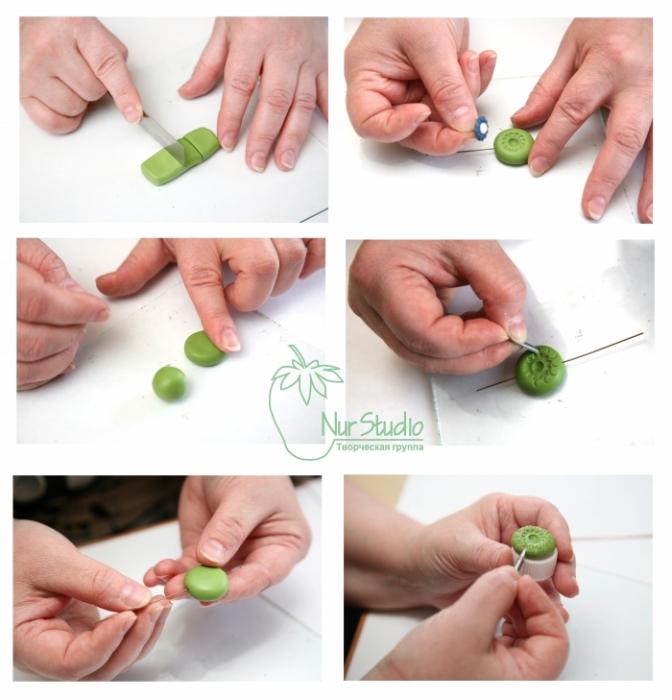 Серьги из полимерной глины: пошаговые мастер-классы для различных вариантов серег