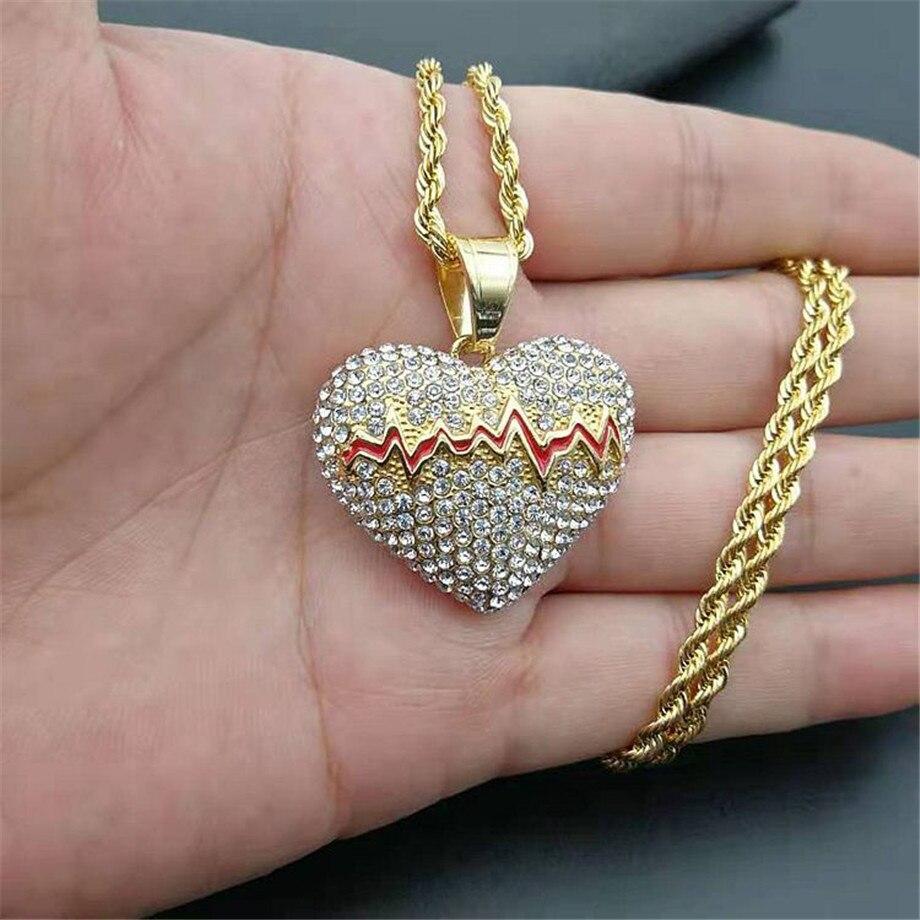 Кулон «вязаное сердце» - своими руками