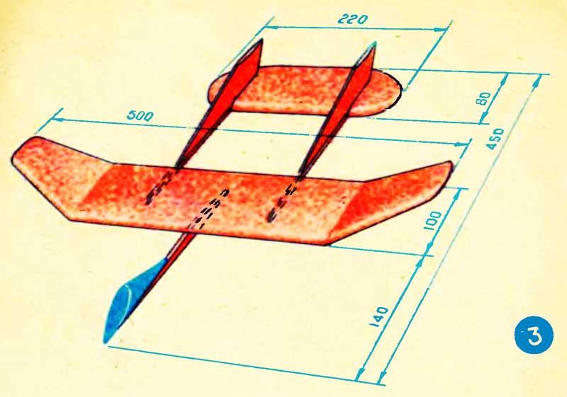 ᐉ самолет из потолочной плитки - своими руками -