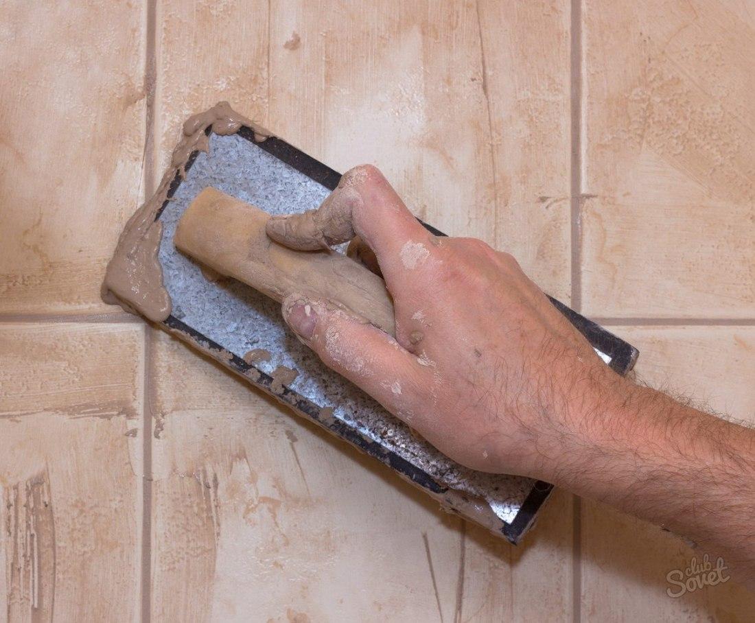 Как сделать затирку для плитки своими руками - всё о керамической плитке