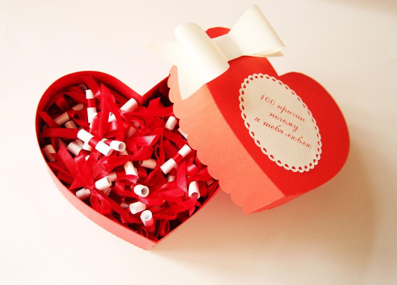 """«100 причин, почему я люблю тебя» — креативный и романтичный подарок парню — журнал """"рутвет"""""""