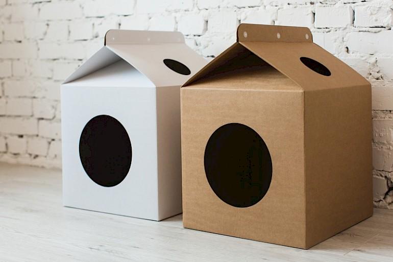 15 способов сделать уютный домик для кошки своими руками