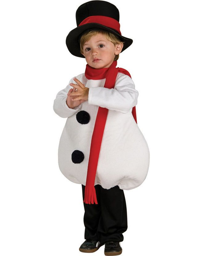 Изготовление новогоднего костюма снеговика своими руками для мальчика | мы делаем праздник лучше!