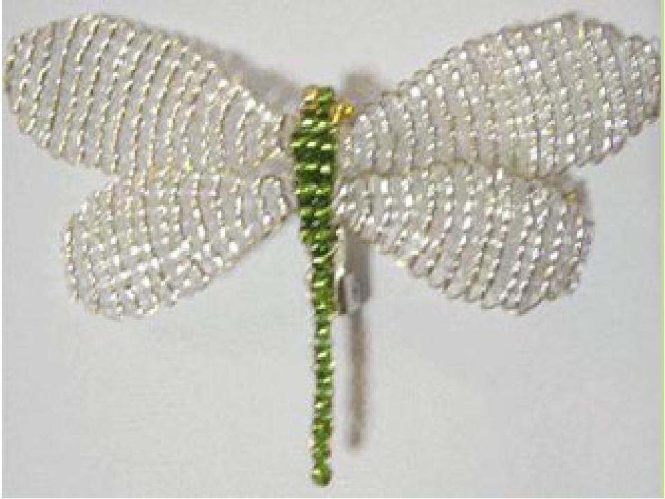 Стрекоза из бисера мастер класс с пошаговым фото + схема плетения для начинающих