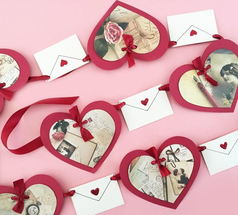 Сердце своими руками из бумаги на день святого валентина (14 февраля)