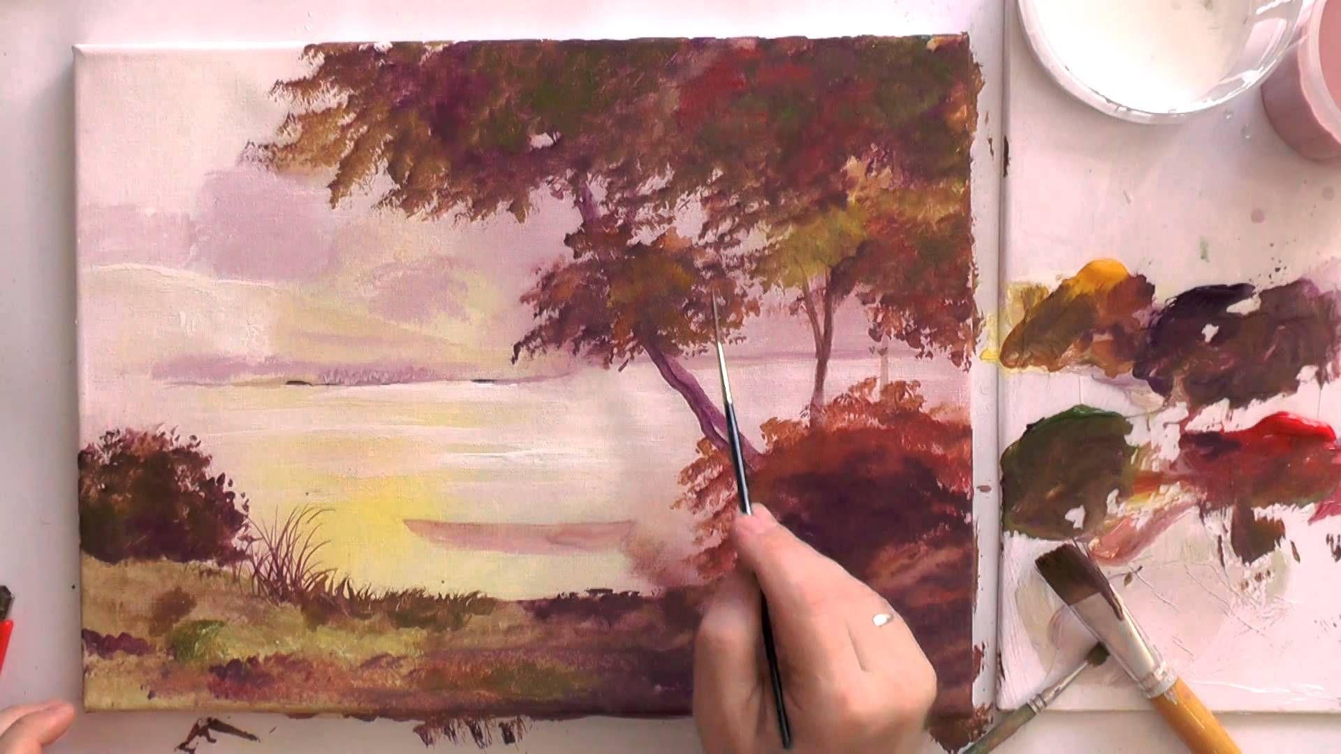 Рисование акрилом: поэтапная техника или уроки рисования абстракции на холсте для начинающих, кисти для этого и что нужно еще