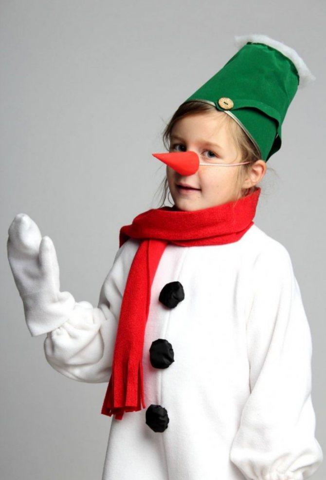 Костюм снеговика своими руками - 95 фото пошива простого и яркого праздничного костюма
