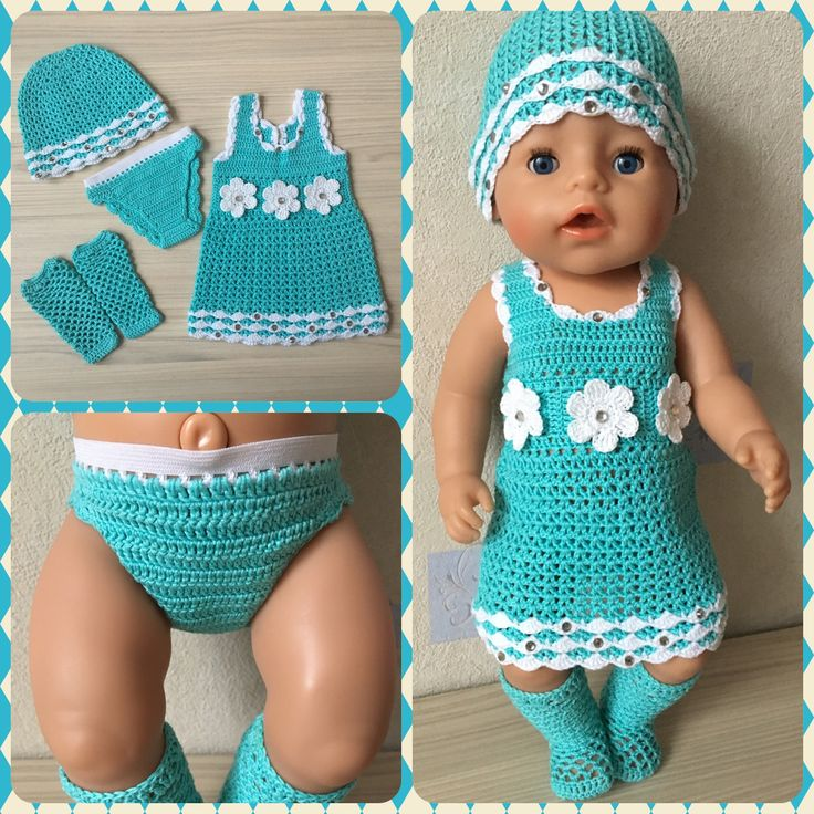 Подборка: куклы спицами