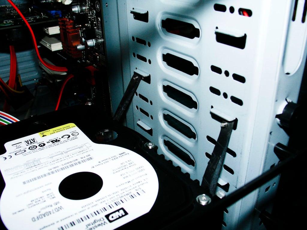 Убираем опасную вибрацию вашего жесткого диска