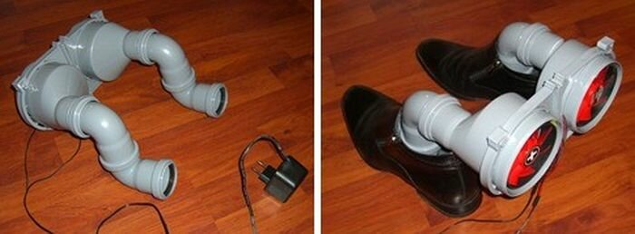 Сушилка для обуви своими руками