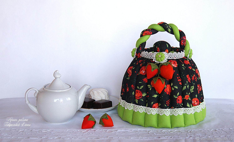 Грелка на чайник своими руками – выкройки, декорирование