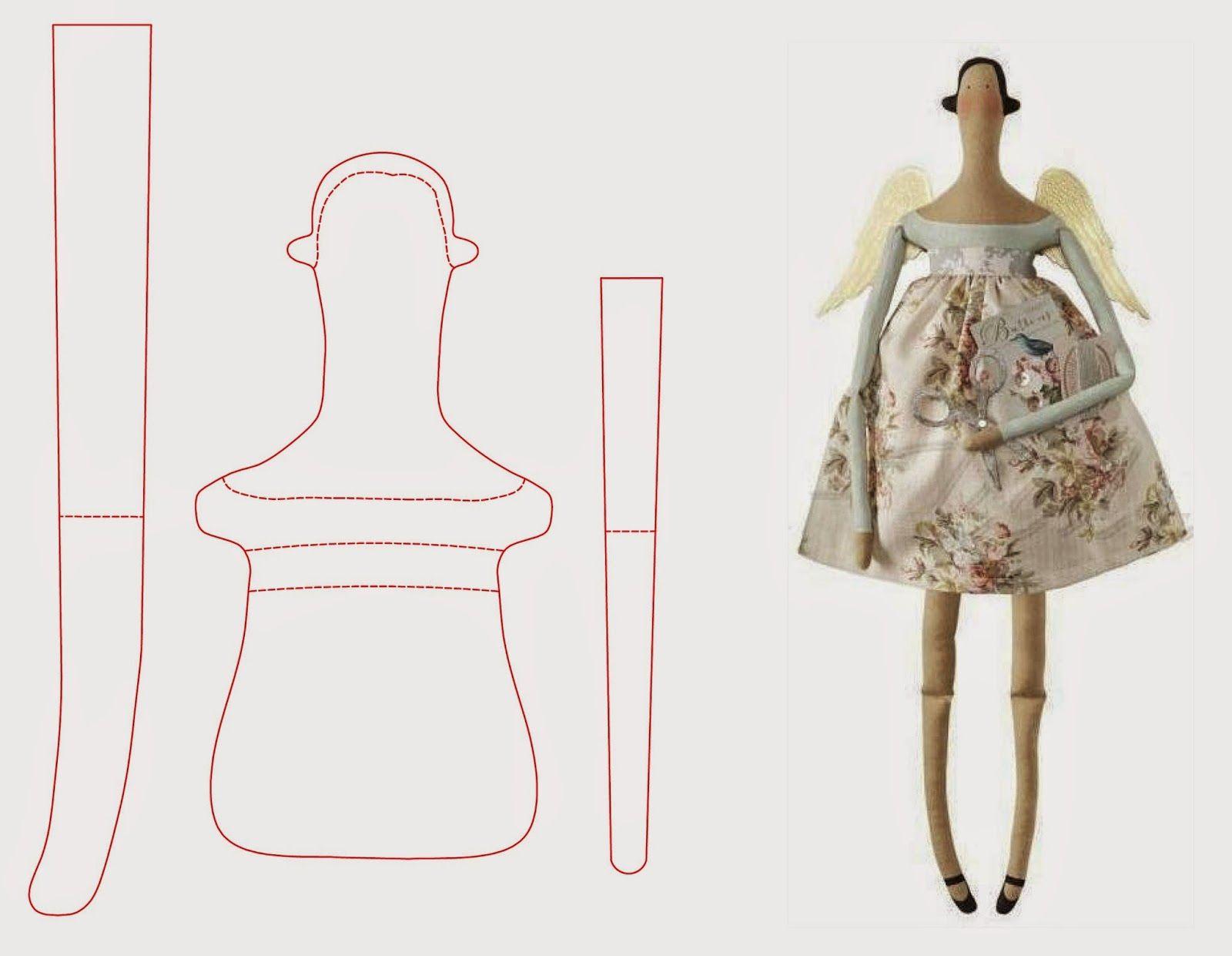 Такая поделка внесет гармонию в дом! одежда для текстильных кукол своими руками: выкройки