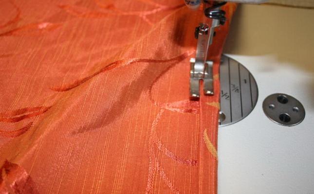 Как подшить шторы в домашних условиях: без машинки, лентой